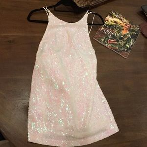 Urban Outfitters iridescent party dress